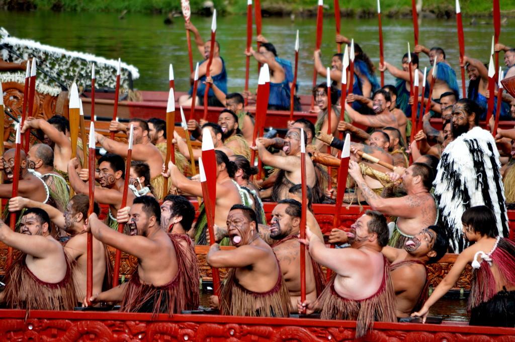 Waka Taua Salute by nickspicsnz