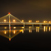 Bridge at Night by rosiekerr