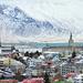 Reykjavik Cityscape by darrenboyj