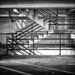Mall Parking Garage Stairs by rosiekerr
