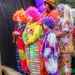 Clowns in waiting
