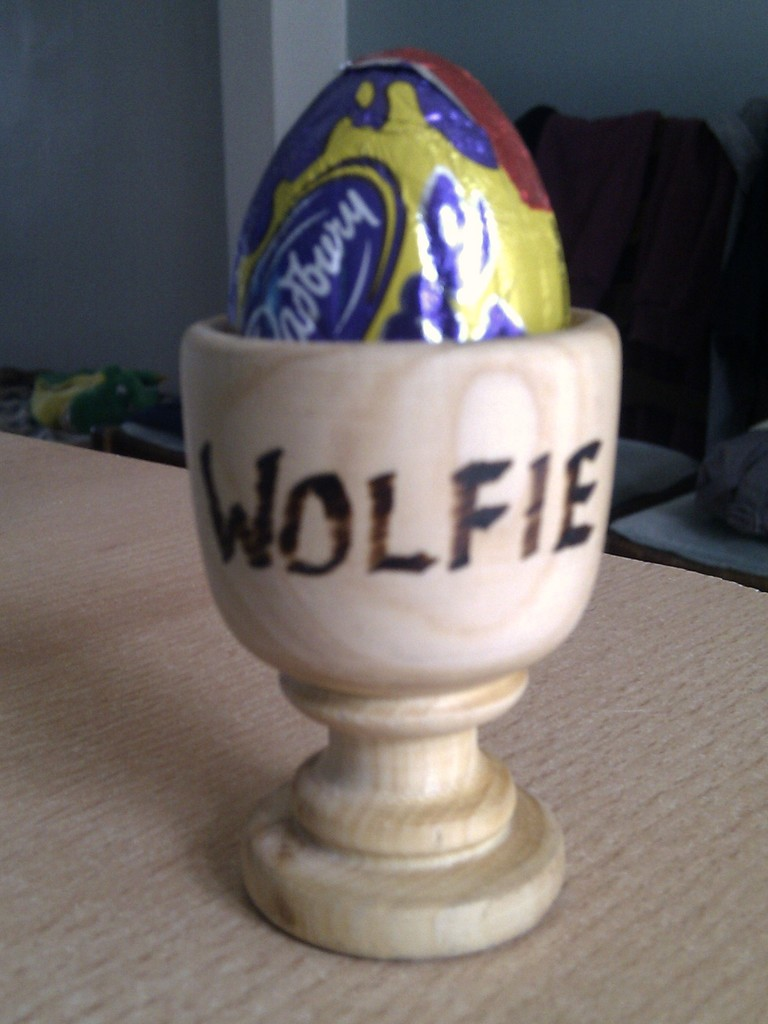 Wolfie Eggcup by bulldog