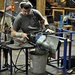 Glass blower making $70 a piece wine glasses