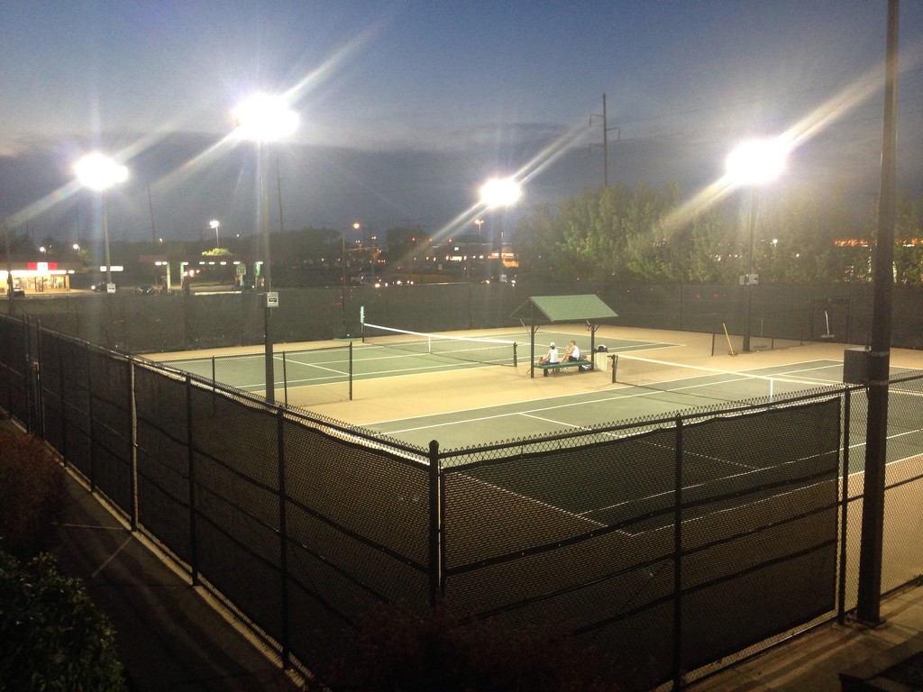 let's go down to the tennis court by bcurrie