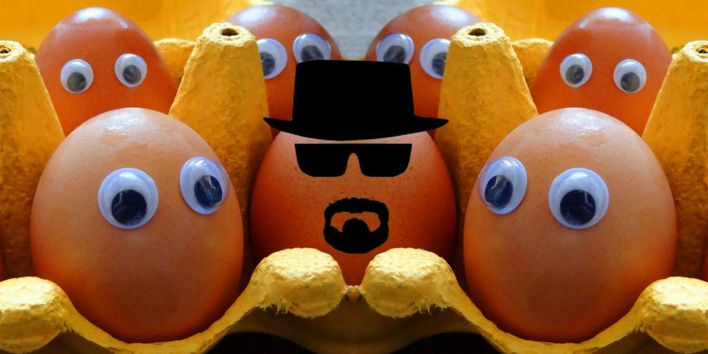 Breaking Bad Egg. by darrenboyj