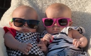 3rd Apr 2015 - Chillin' In Our Shades, Twinsie Style
