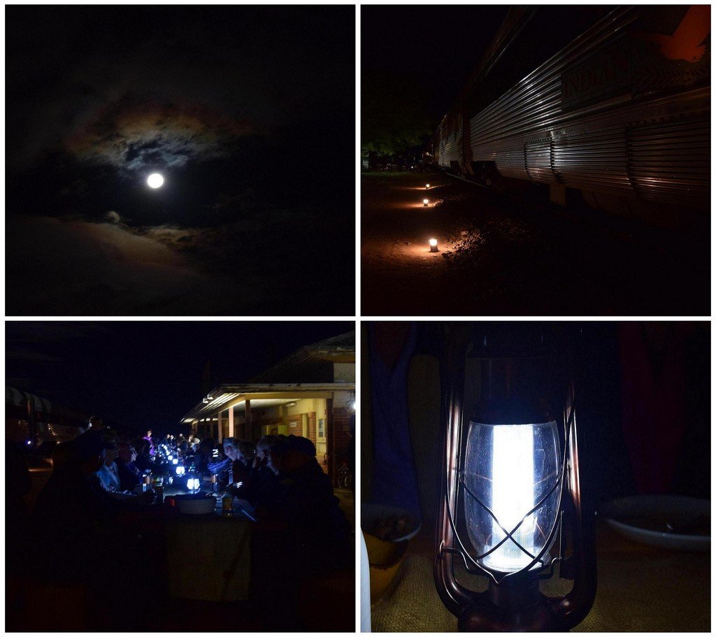 Gourmet dining under the Nullabor moon! by happysnaps
