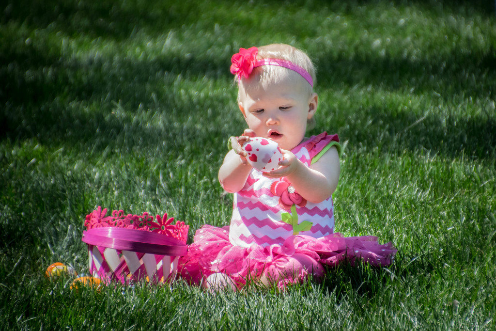 First Easter Egg Hunt by ckwiseman