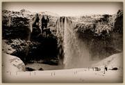 7th Apr 2015 - Seljalandsfoss waterfall, Iceland.