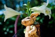 5th Apr 2015 - Ceramic Easter Bunny