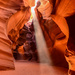 Ray of Sunshine in Antelope Canyon