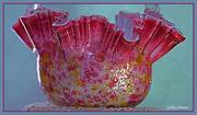 9th Apr 2015 - Nance's glass bowl.