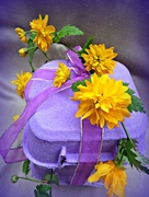 10th Apr 2015 - Purple with Yellow.