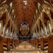 Inside Holy Name Cathedral by taffy