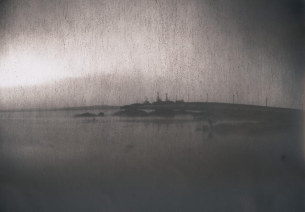 scapa pier, very old paper  by ingrid2101