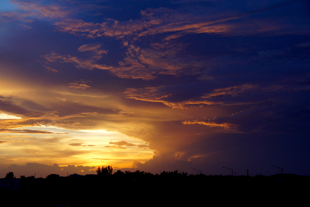Amazing sunset by danette