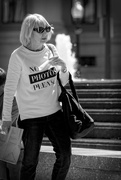 10th Apr 2015 - Oh the irony of street photography!