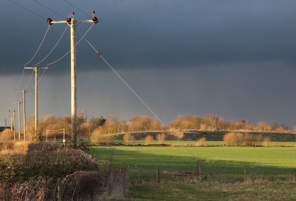 Distant rainfall by shepherdman