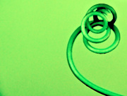 13th Apr 2015 - an abstract curl of green