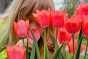 14th Apr 2015 - Sniffin' The Tulips