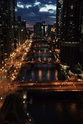 15th Apr 2015 - Chicago River at Dusk