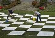 18th Apr 2015 - Scrubbing the Chess Board.