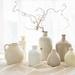 Stoneware vases by suebarni