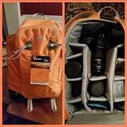 20th Apr 2015 - My new camera backpack!