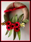 23rd Apr 2015 - For all the ANZAC,s   that sacrificed their lives for their country