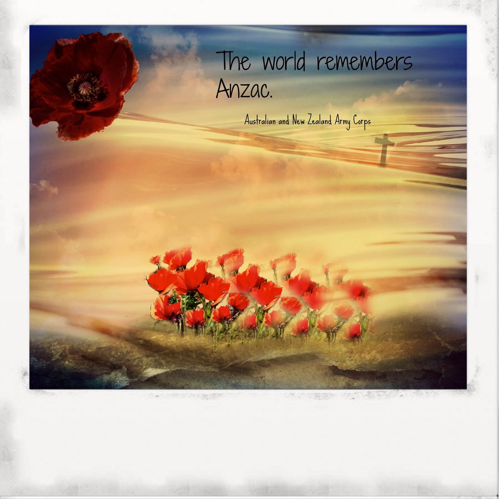 Anzac day brings the world together by maggiemae