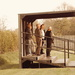Arnold Town FC , undercover standing area (faded brown)