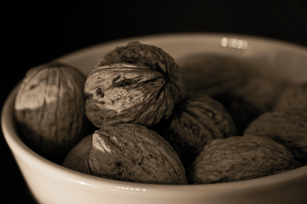Bowl of Nuts by harvey