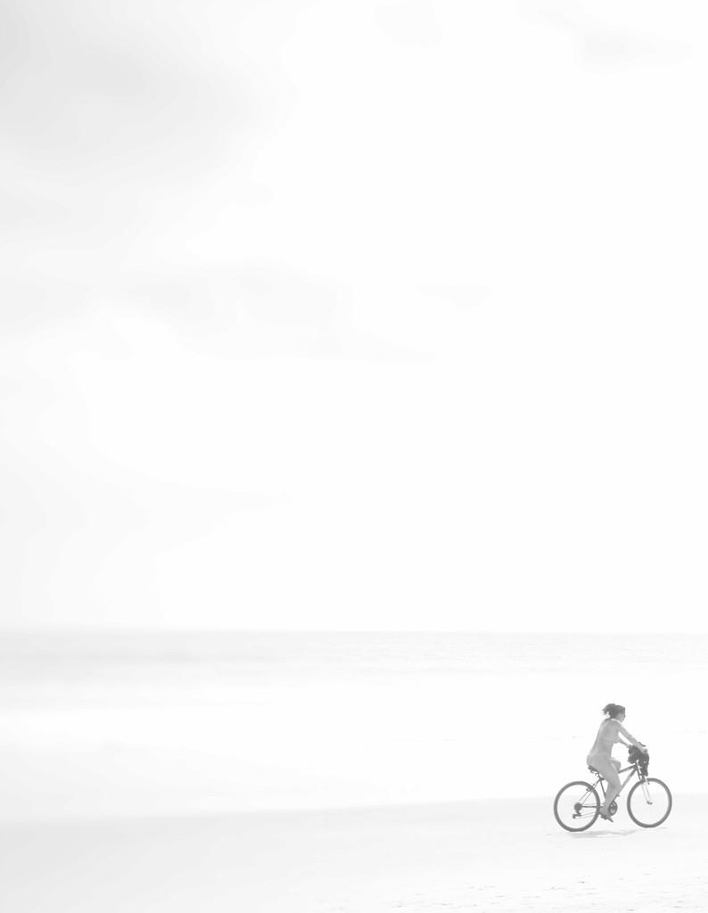 The lone biker by joemuli