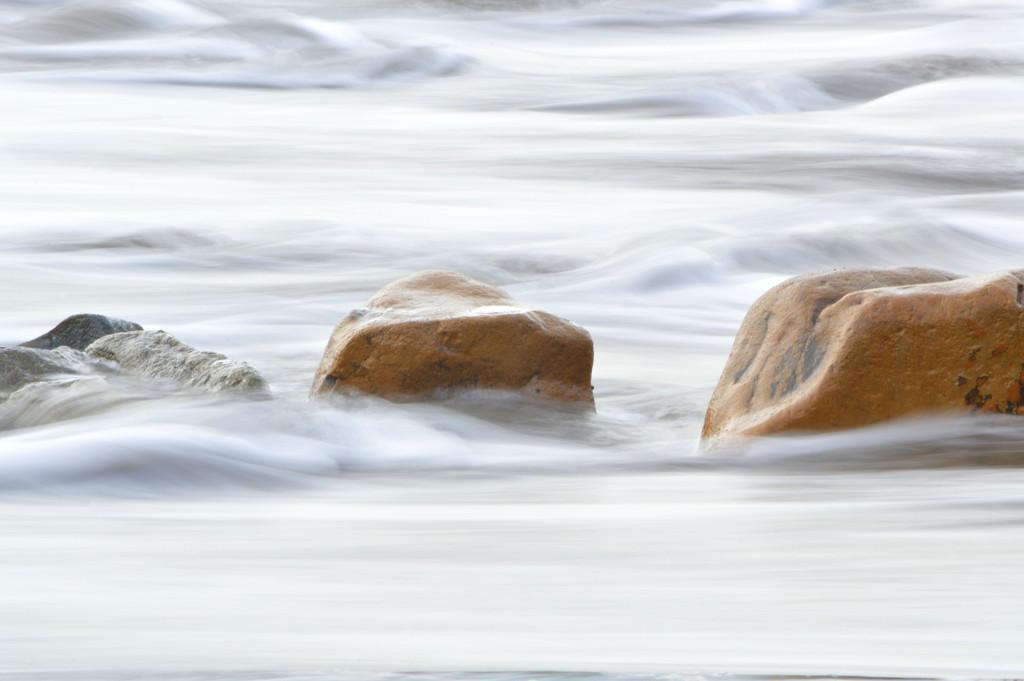 Sea over Rocks by nickspicsnz