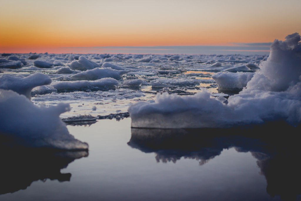 Lake Huron Ice by tracymeurs