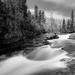 Temperance River B & W  by tosee