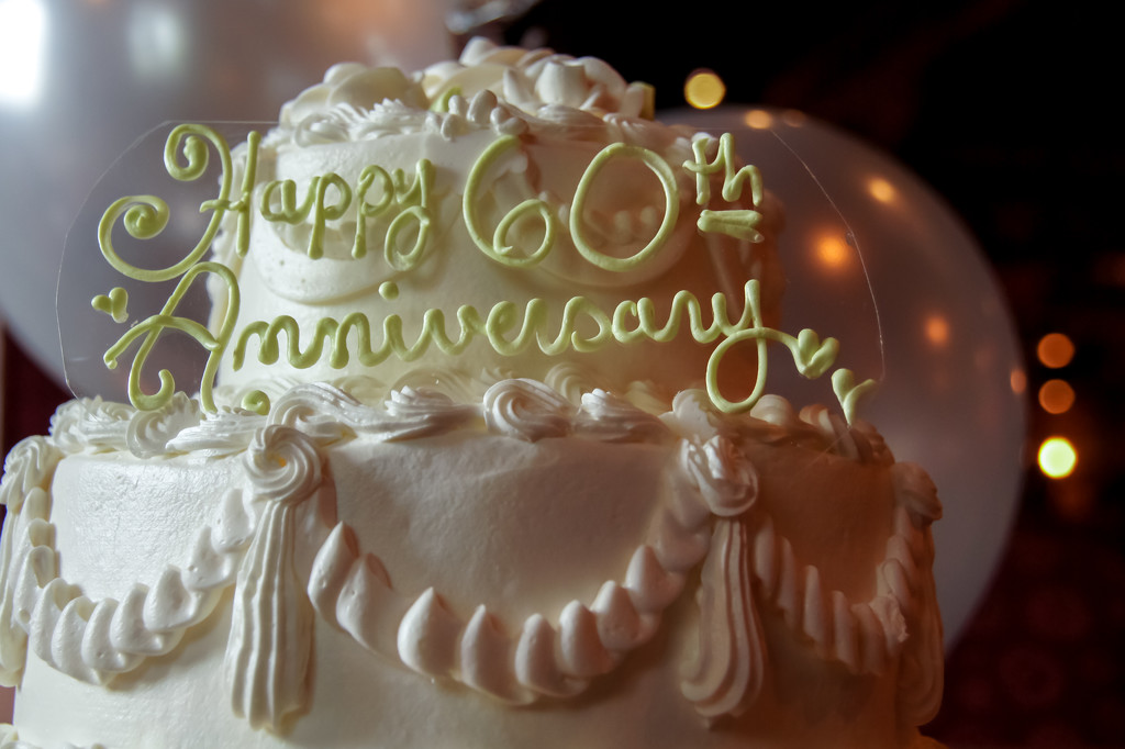 60th anniversary by danette
