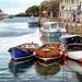 Boats at Looe by swillinbillyflynn