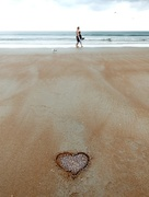 28th Apr 2015 - Love letters in the sand