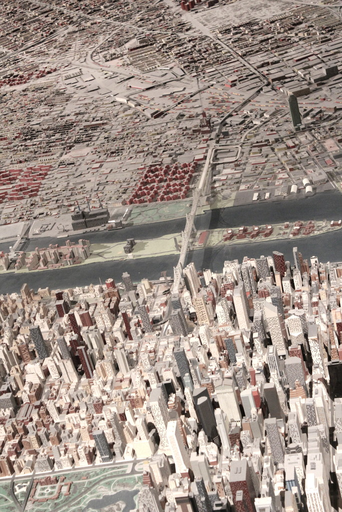 Scale Model of NYC and the Buroughs by blackmutts