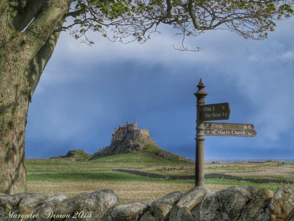 Lindisfarne Castle Holy Island by craftymeg
