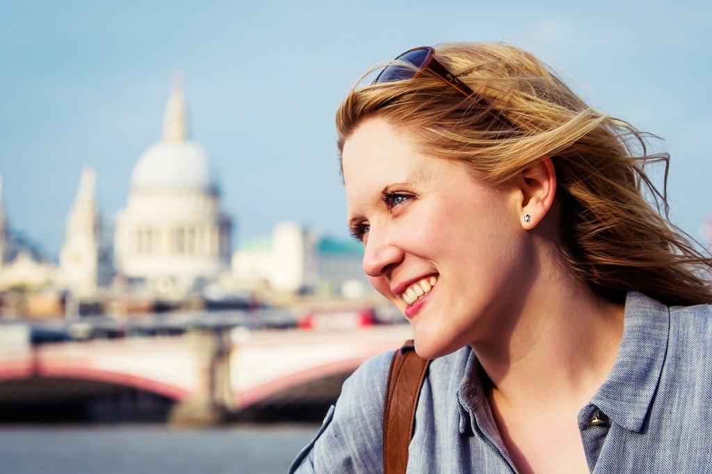 Day 114, Year 3 - Rachel In London by stevecameras