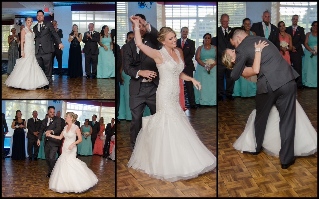 Bride and Groom Dance by danette