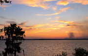 30th Apr 2015 - Another Sunset on the St John's River with Fire