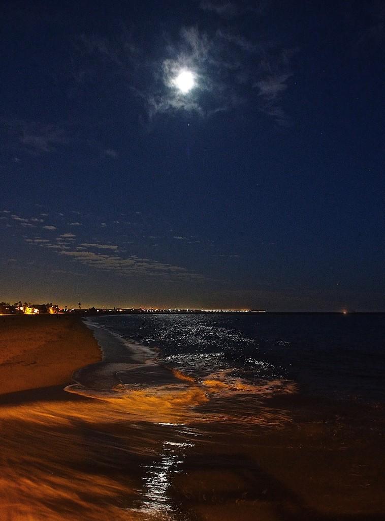 Moonlit Sea by redy4et