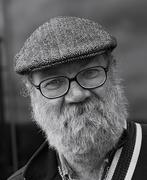 2nd May 2015 - 50 mono portraits at 50mm : No. 34 : Flat Cap, Glasses and Beard