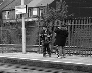 8th May 2015 - Waiting for the Tram