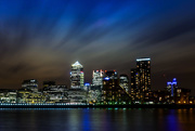 8th May 2015 - Day 130, Year 3 - Nighttime Over Canary Wharf