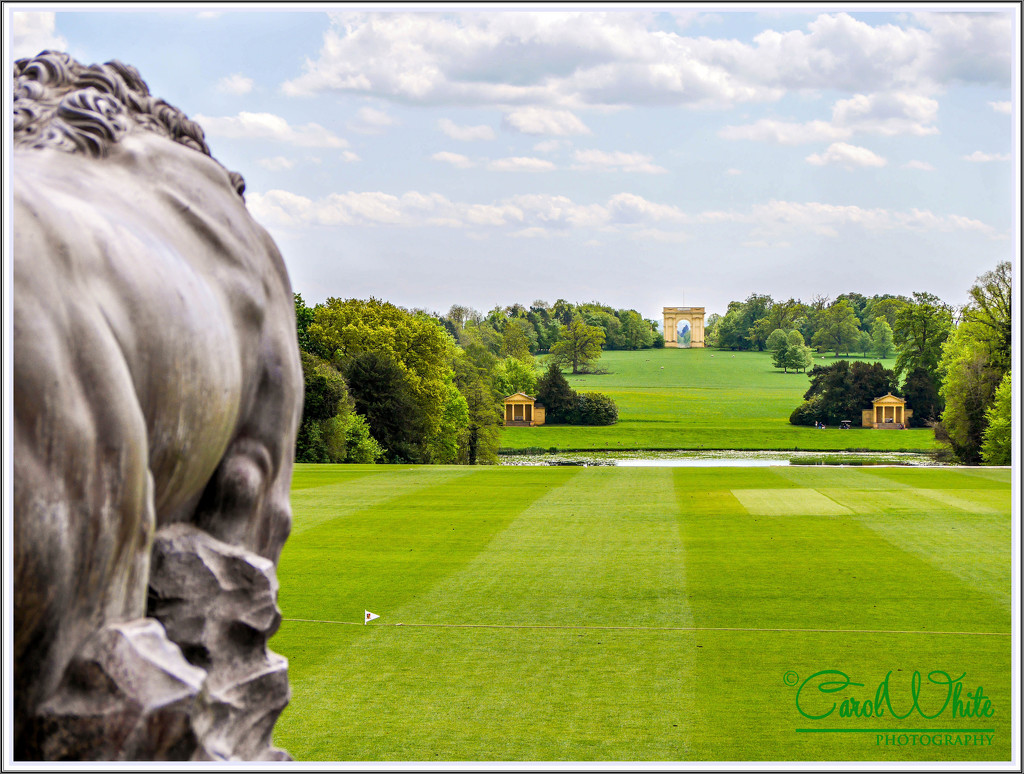 View From The Steps Of Stowe House by carolmw