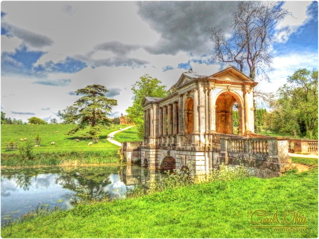 Bridge Across The Lake,Stowe Gardens by carolmw